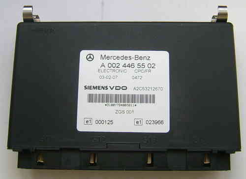 Mercedes Benz Vario 669 electronic control unit