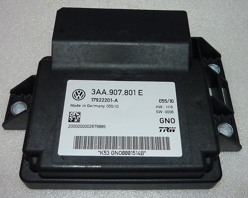 VW ECU parking brake