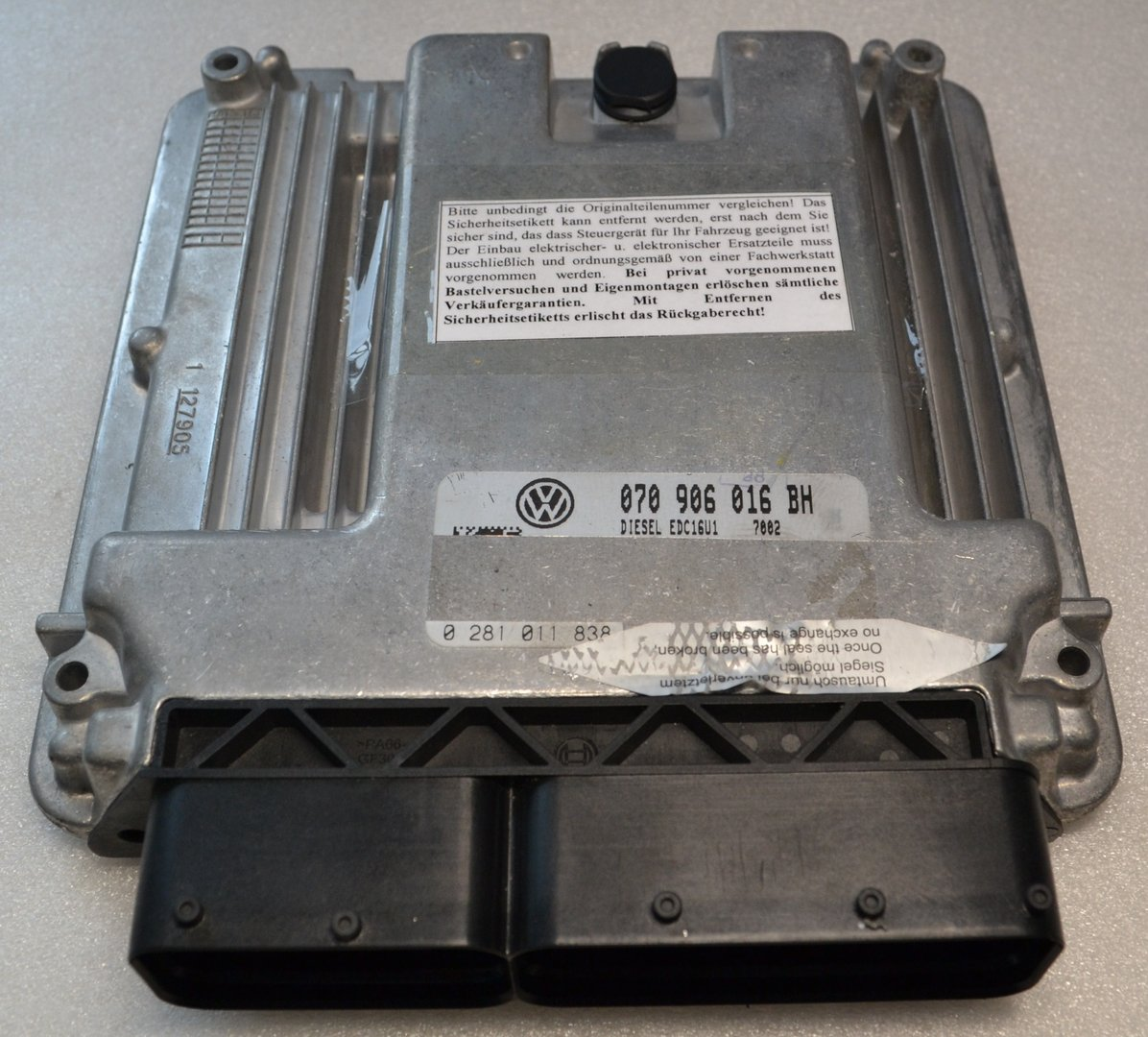 VW DIESEL Engine control unit