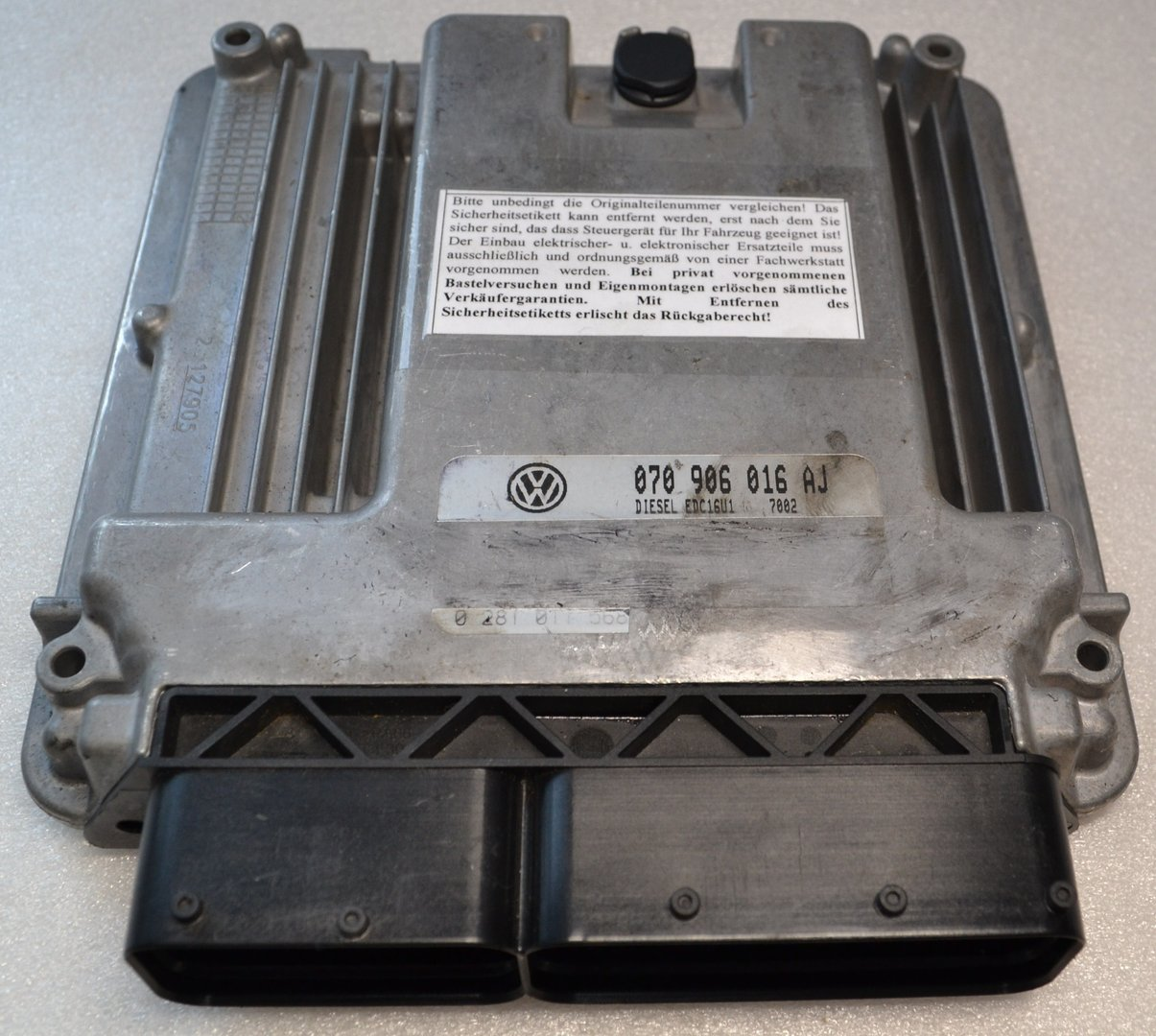 VW electronic control unit