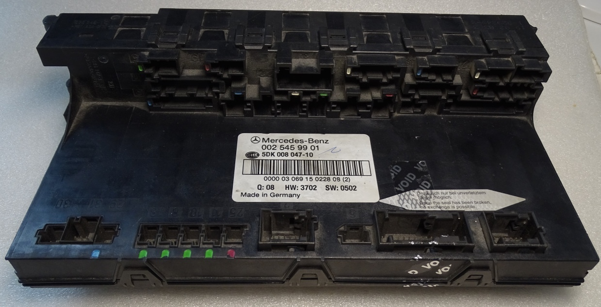 Mercedes SAM electronic control unit