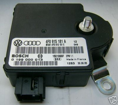 AUDI Electronic control unit battery