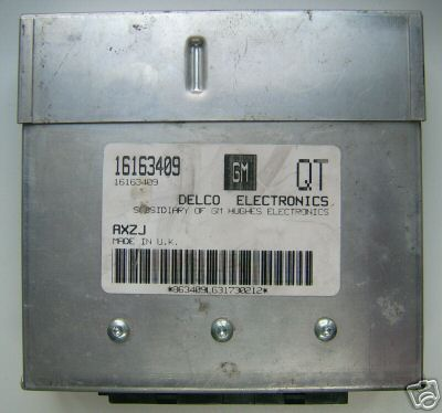 Opel Engine control unit