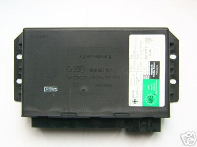 AUDI Electronic control unit for central locking system