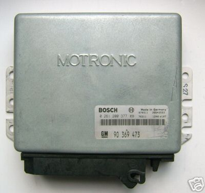 Opel MOTRONIC Engine control unit