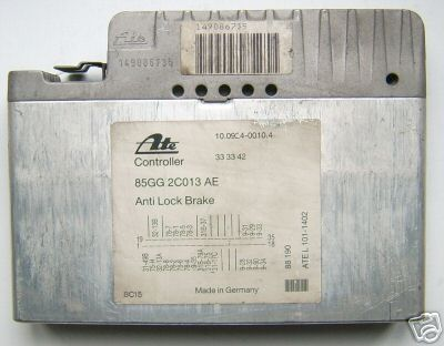 FORD ABS Electronic control unit