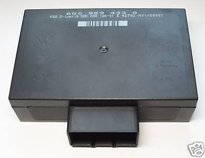 VW Central locking control unit/ comfort and convience control unit