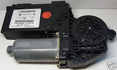 VW Power-window motor with door control unit