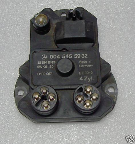 Mercedes Ignition control unit