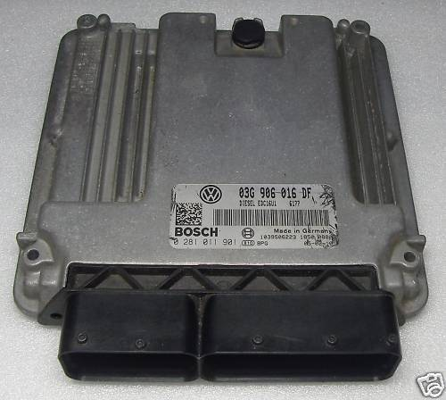 VW Engine control unit