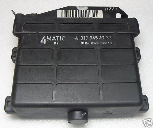 Mercedes 4-Matic Electronic control unit